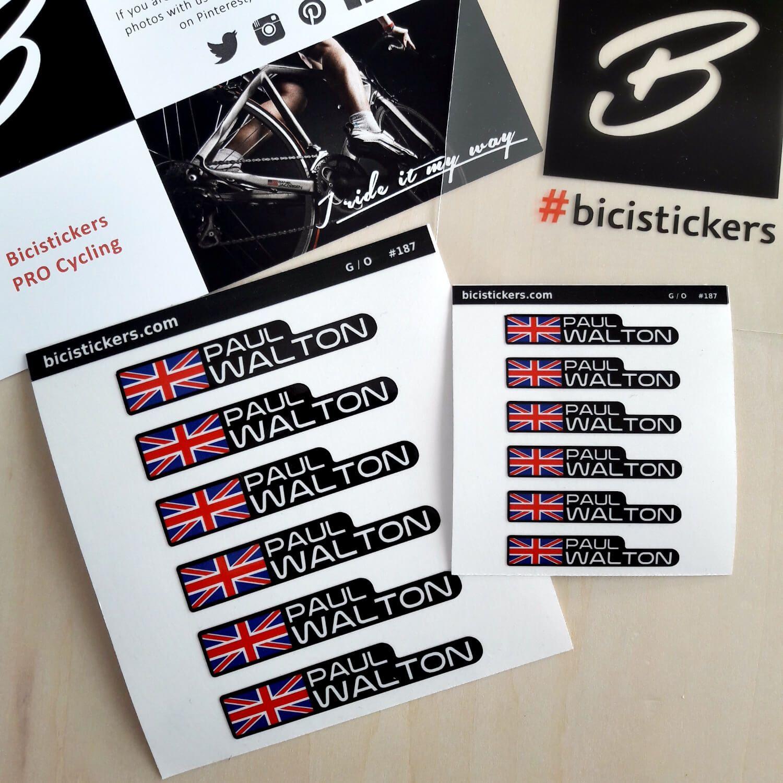 Home Bike Names Name Stickers Bike