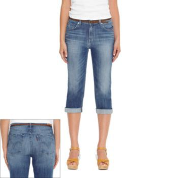 Levi's 515 Cuffed Denim Capris - Women's | Spring & Summer Fashion ...