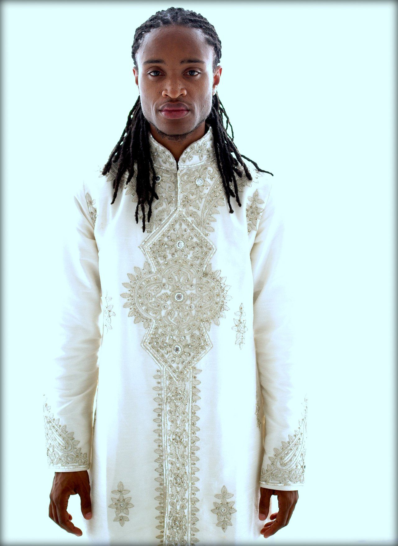 The groom wedding attire african fashion pinterest for Wedding dress shirts for groom