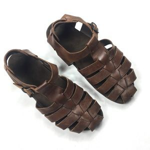 Mephisto Sam Leather Sandals 4612