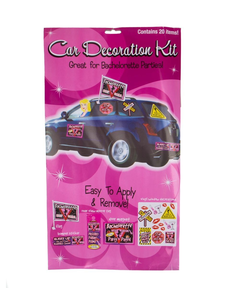 Bachelorette Car Kit