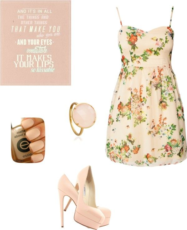 """spring #1"" by hopeful828 ❤ liked on Polyvore"
