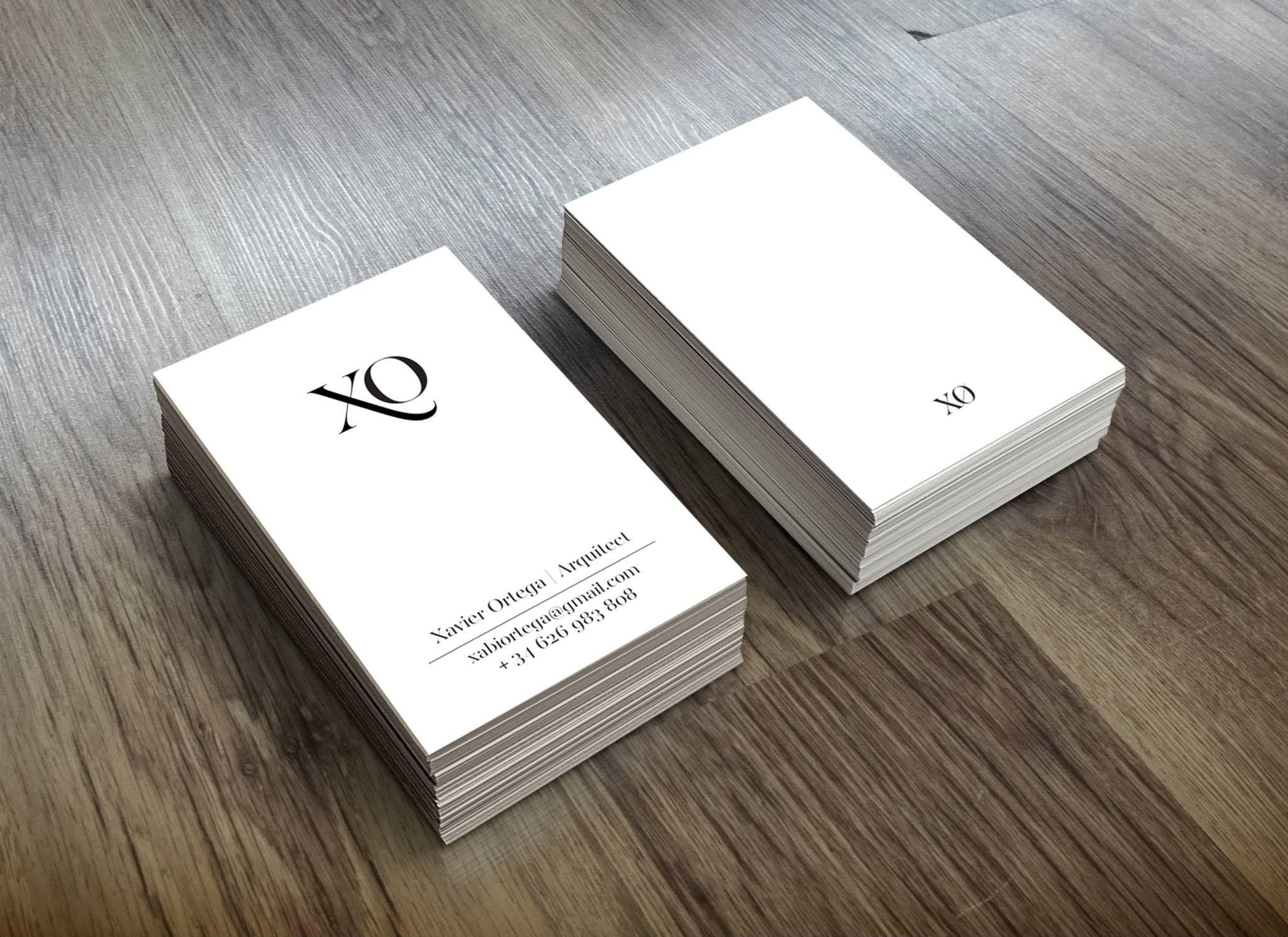tarjetas de visita elegantes a r c h portfolio cv ideas