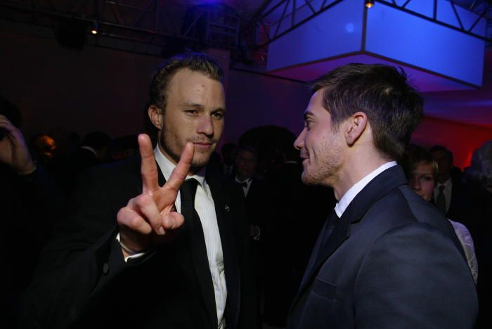 Heath Ledger Jake Gyllenhaal Oscars - A look back at Jake Gyllenhaal and Heath Ledger's friendship