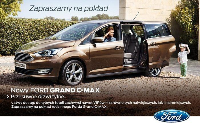 Oto Calkowicie Nowe Modele W Rodzinie Forda 5 Osobowy Ford C Max I 7 Osobowy Ford Grand C Max Stanowiace Doskonale Polaczenie Innow Ford Vehicles Grands