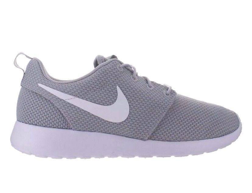 862a9674724 Nike Roshe Run One Mens Shoes 10 Wolf Grey White 511881 023  Nike   RunningCrossTraining