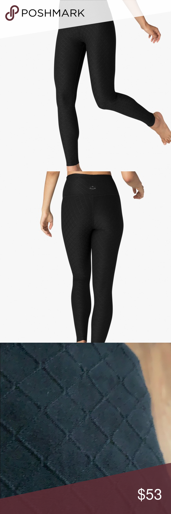 c39a63127f Can't Quilt You High Waisted Beyond Yoga Leggings Beyond Yoga best-selling  legging with an ultra modern update using this buttery soft Quilted Plush  fabric.