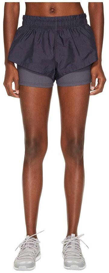 watch 60194 d427c adidas by Stella McCartney Run 2-in-1 Shorts CD5116 Womens Shorts