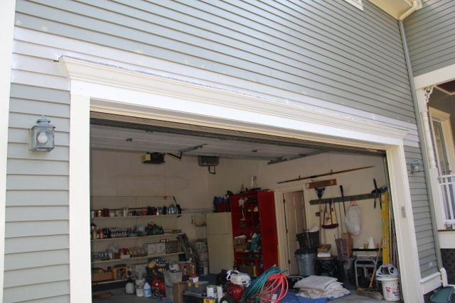 Crown Molding Above Garage House Exterior Garage Door