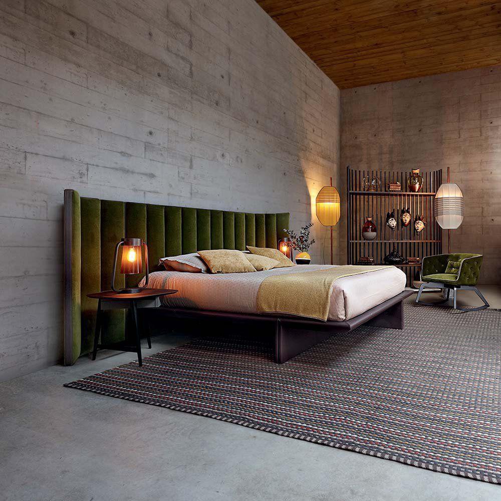 Lit design : notre sélection   NEWWWWW   Tête de lit en velours ...