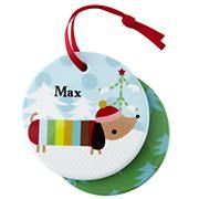 Kids Ornaments: Colorful Personalized Ornaments in Personalized Décor