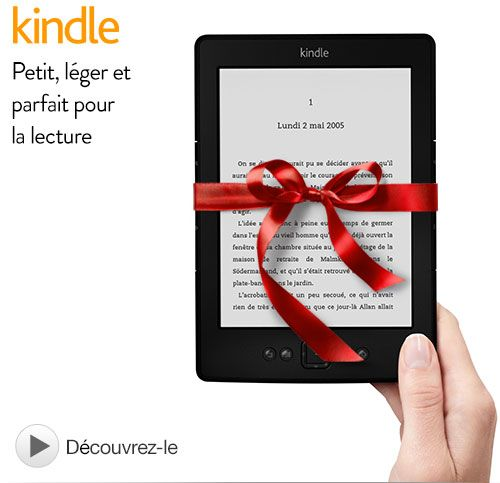 Kindle pour noel