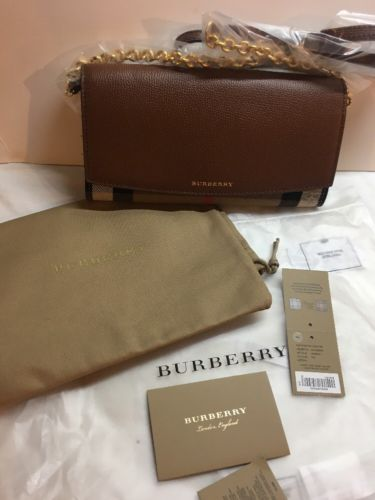 3bcc5f4c1046 Burberry Henley Wallet On A Chain  695 Retail