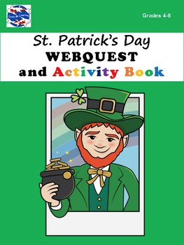 St. Patrick's Day WEBQUEST and Activity Book