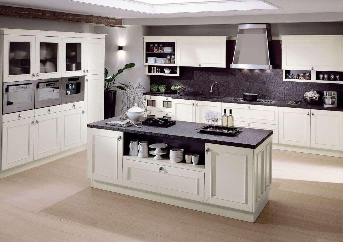 Abbinare il pavimento al rivestimento della cucina