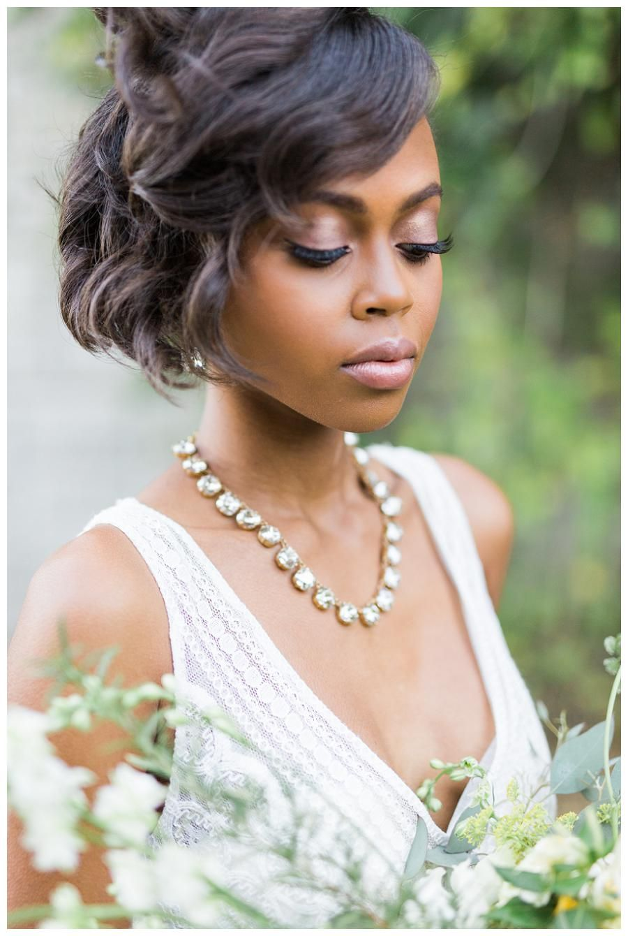 bridal beauty. hair and makeup by scoobie west & company. dress by