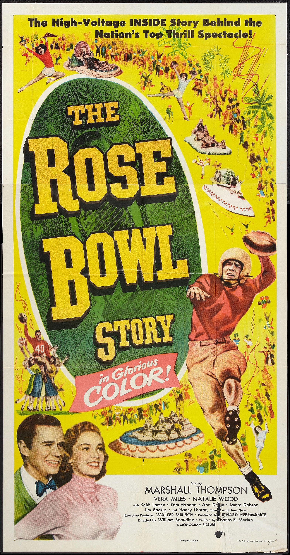 The Rose Bowl Story (1952) Stars: Marshall Thompson, Vera Miles, Richard Rober…