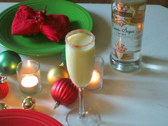 Cinna Sugar Holiday Cocktail Cinna Sugar Twist Flavored