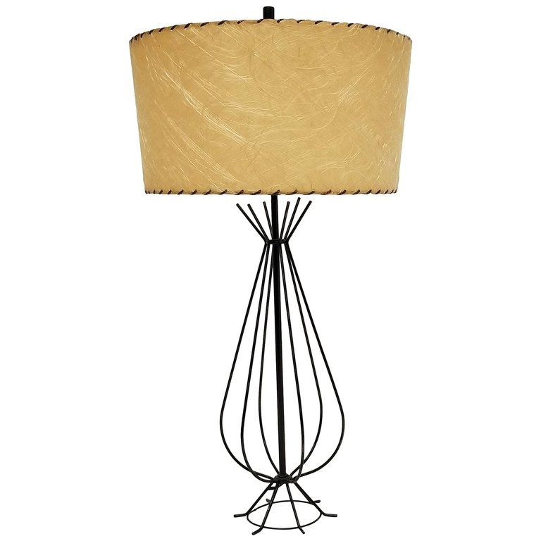 1950s Wire Table Lamp In The Style Of Tony Paul Usa Lamp Wire Table Table Lamp