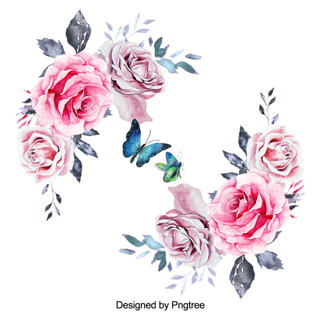 Beautiful Hand Paint Watercolor Rose Flower Flower Flowers Beautiful Flower Png Transparent Clipart Image And Psd File For Free Download Watercolor Flower Background Rose Flower Png Floral Wreath Watercolor