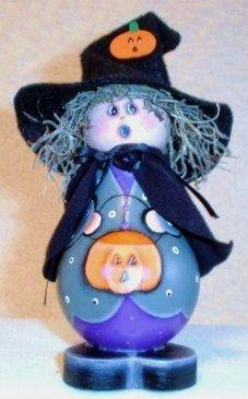 halloween crafts scary halloween decorations witch painted light bulb - Scary Halloween Crafts