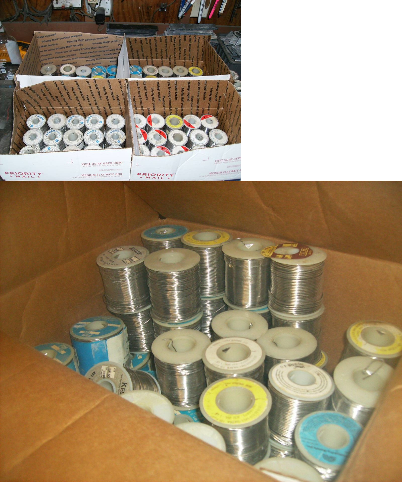 Stained Glass Supplies 4770: Solder Spools 40 Pounds Crafts