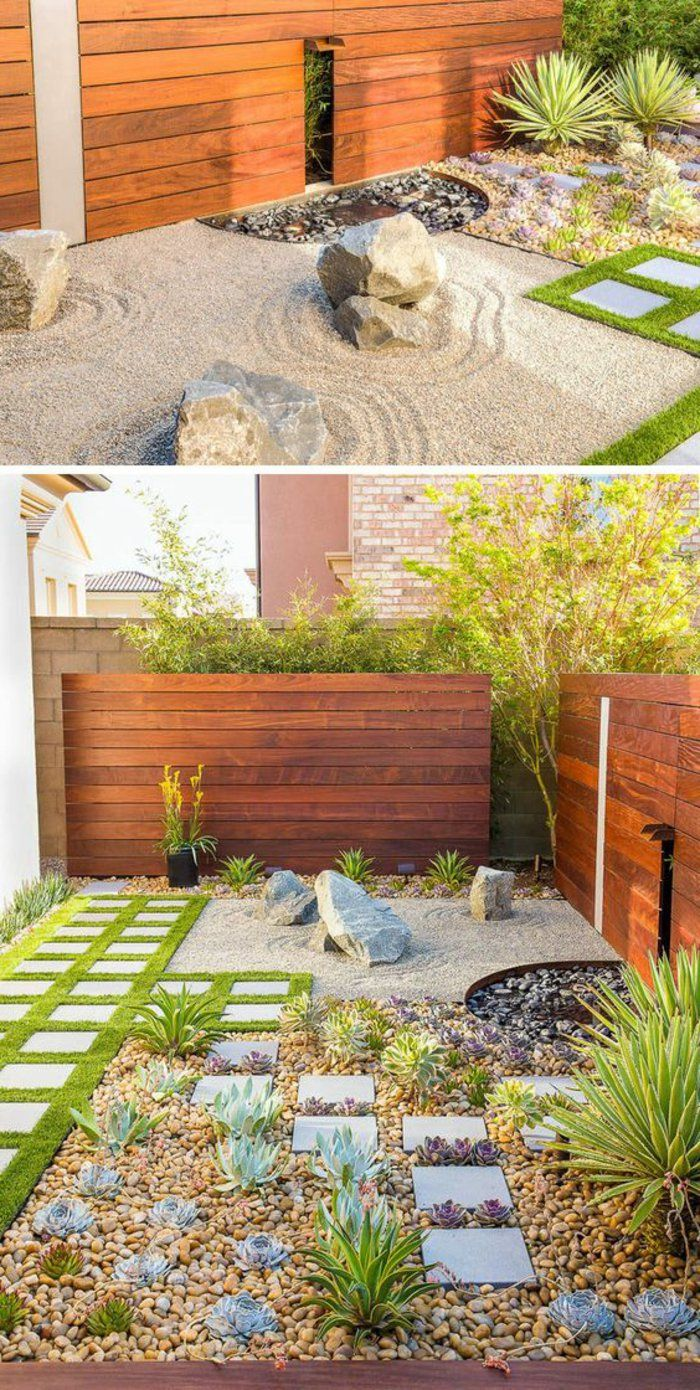 All the secrets to create a zen garden decor and 70 inspiring photos #steingartenideen