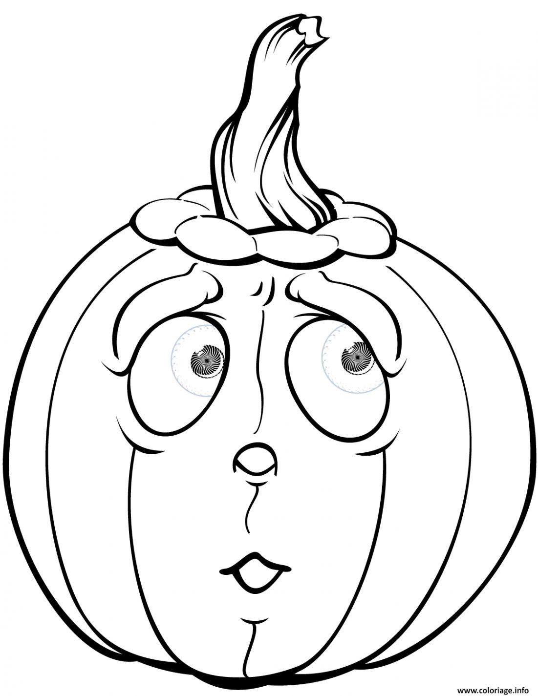 Coloriage De Halloween Qui Fait Peur Coloriage De