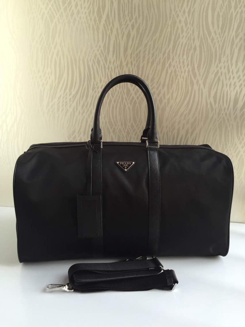 a9a1abd0bf Prada Nylon Travel Bag Black
