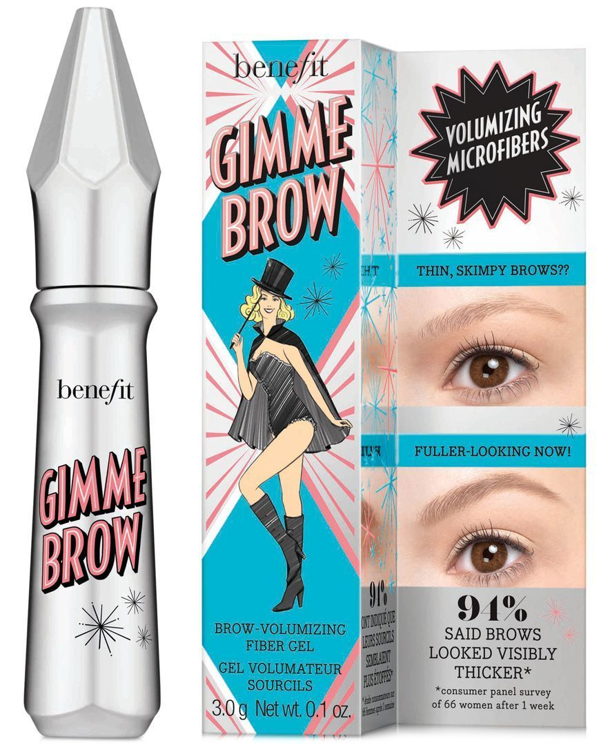 An award-winning, innovative brush-on gel containing tiny micro fibers that adhere to skin and hair, creating full, lush-looking brows where before there were none. The water resistant, long lasting,