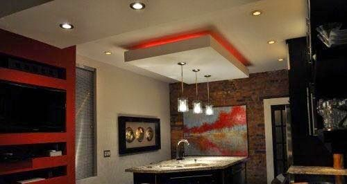 False Ceiling Pop Designs With Led Ceiling Lighting Ideas For Magnificent Ceiling Pop Design For Living Room Inspiration Design