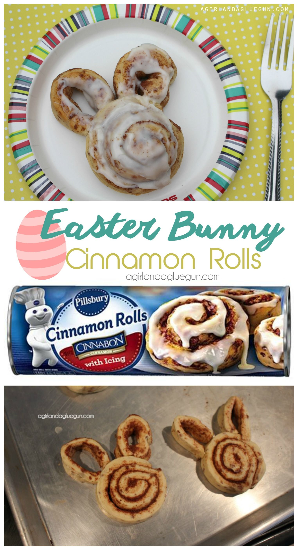 Easter Bunny Cinnamon Rolls Easter Easter Easter Bunny Easter