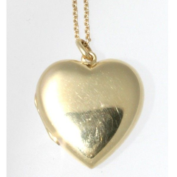 4c67952b3 Pre-owned Tiffany & Co. 14K Yellow Gold Heart Locket (90,930 PHP ...