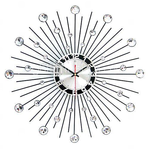 Modern Round Iron Wall Clock 2016 - $45.99