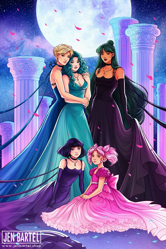 Outer Princesses Print – Jen Bartel