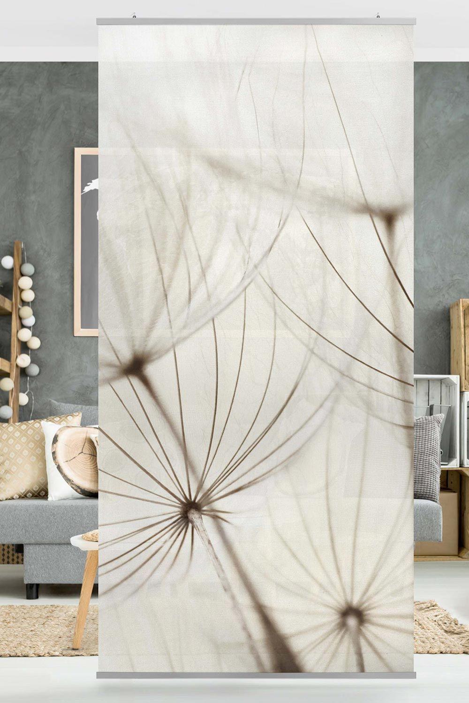 Raumteiler Sanfte Gräser 250x120cm Raumteiler Vorhang
