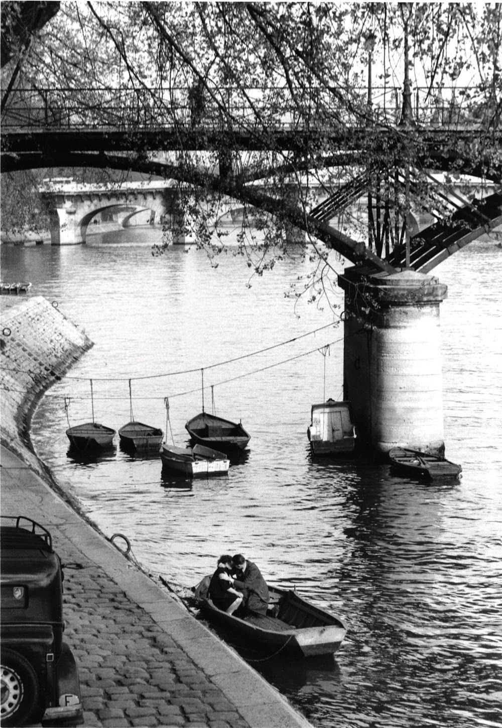 Willy Ronis, Pont des Arts, 1959