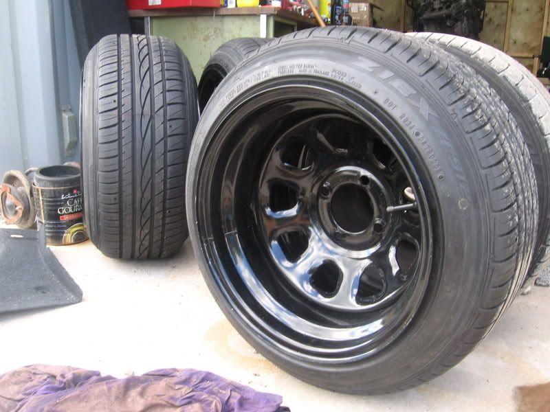 S13 Deep Dish Steelies 240sxone Forums Rims Mustang