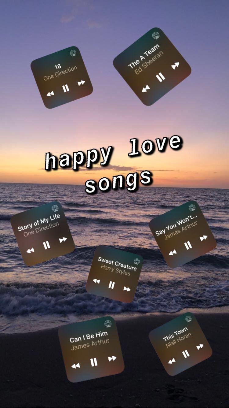 happy love songs 🤍