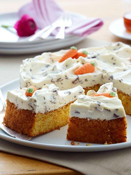 Mohrentorte Mit Mascarpone Schoko Topping Rezept Kuchen Geback