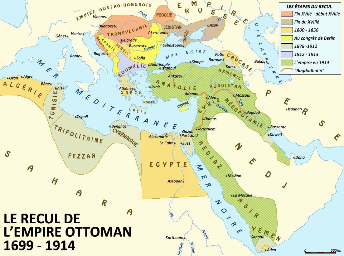 Carte Empire Ottoman Empire Ottoman Carte Du Monde Empire