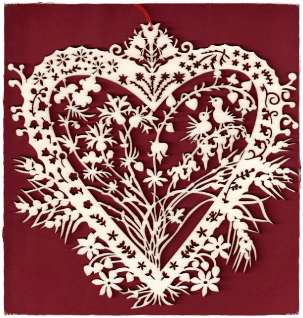 Coeur De Fleurs Paper Cutting And Book Art