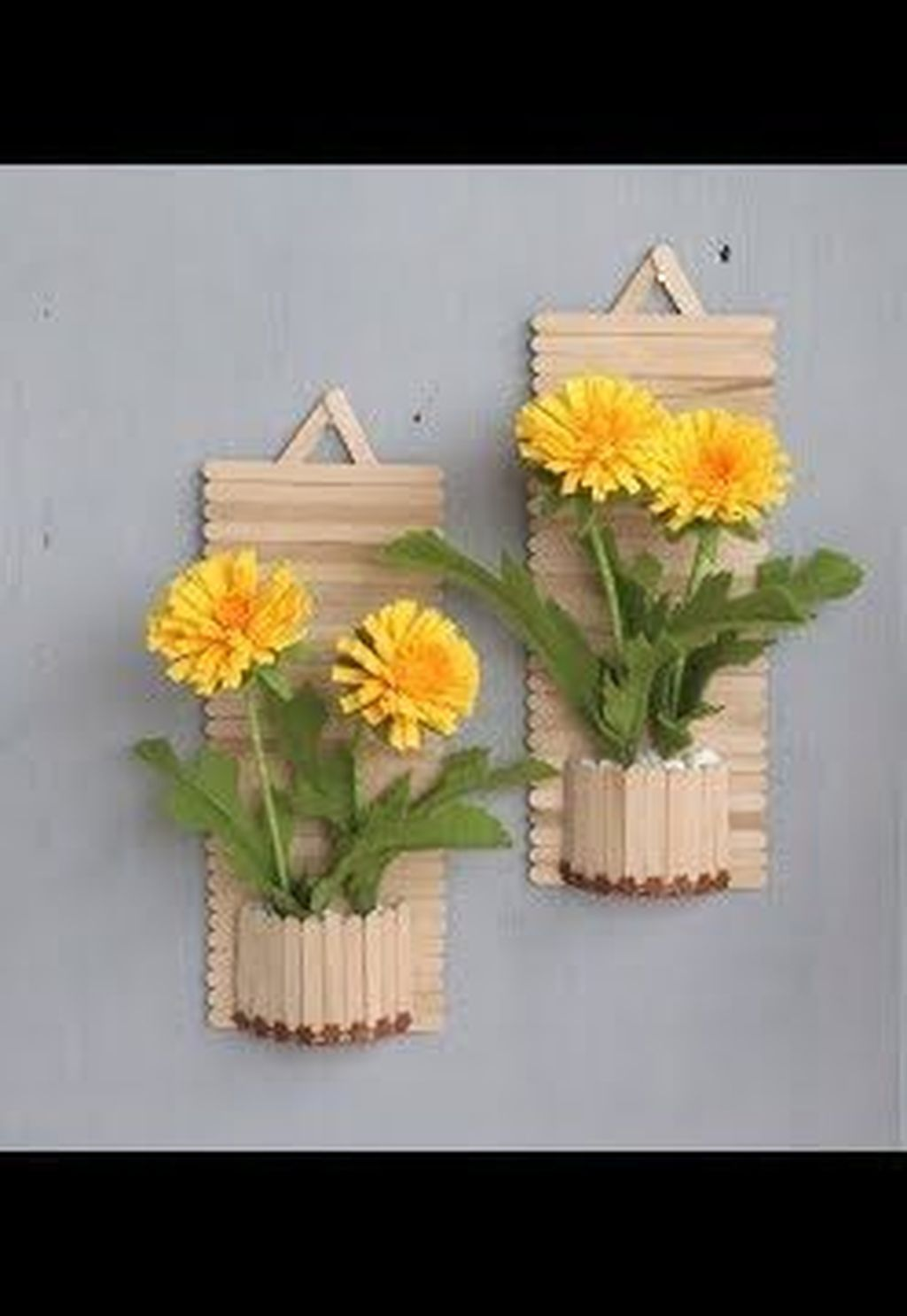 34 Gorgeous Diy Popsicle Stick Design Ideas For Home To ...