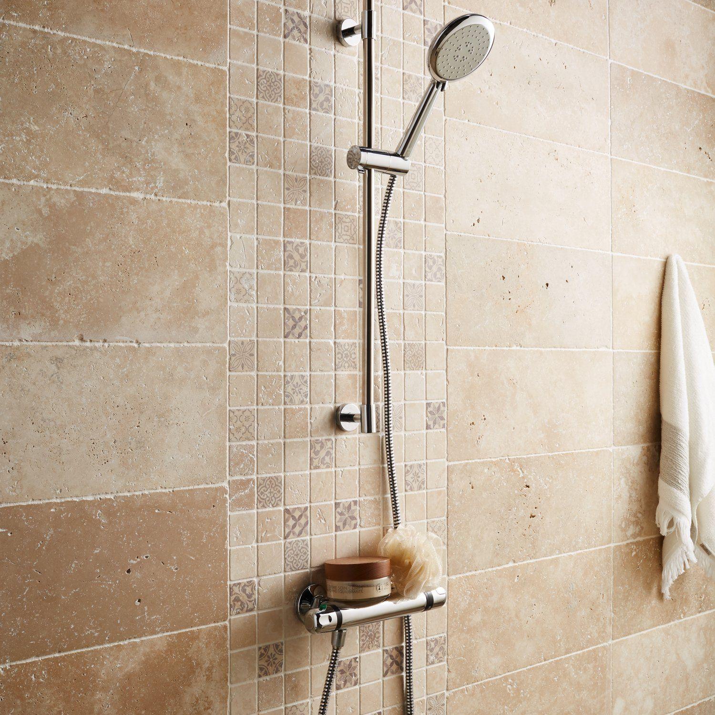 Optez pour la pierre naturelle dans la douche  Salle de bain