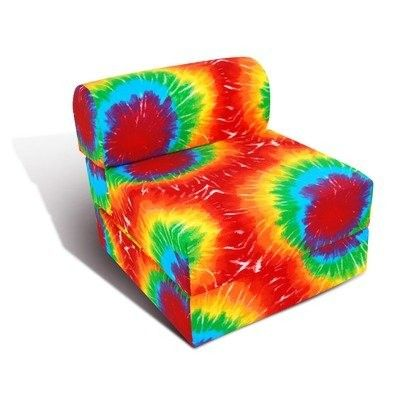 Incredible Tie Dye Fold Out Chair Sleeper Chair Kids Playroom Ibusinesslaw Wood Chair Design Ideas Ibusinesslaworg