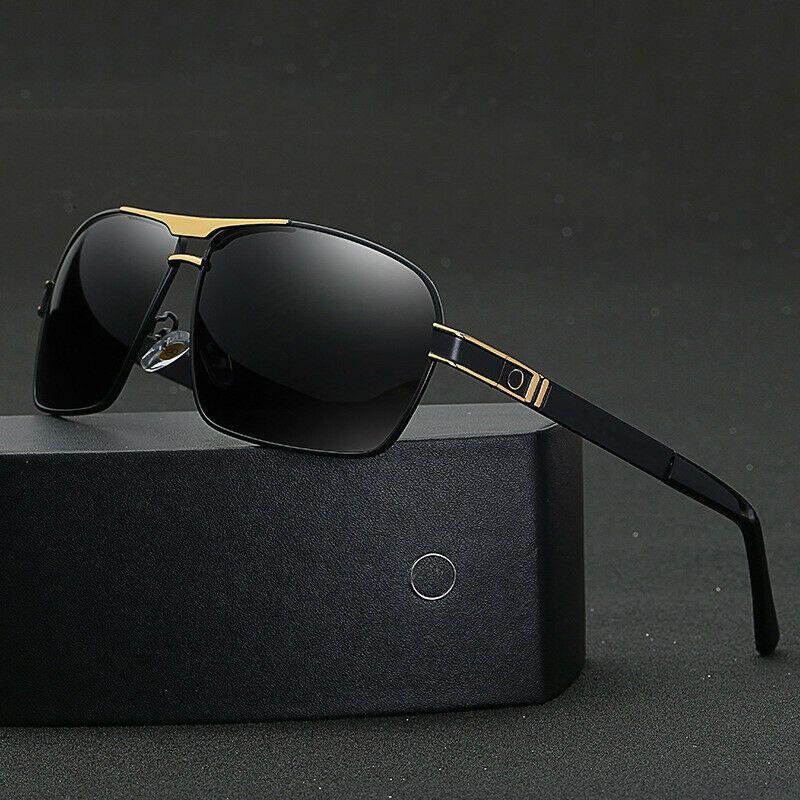 Sunglasses Luxury Brand Polarized Men Sports Driving Glasses Mercedes-Benz 743