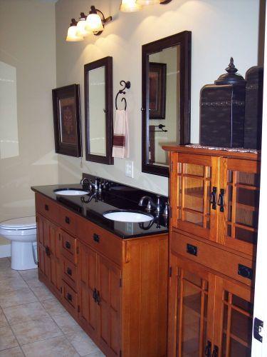 Craftsman bathroom house ideas craftsman bathroom - Mission style bathroom accessories ...