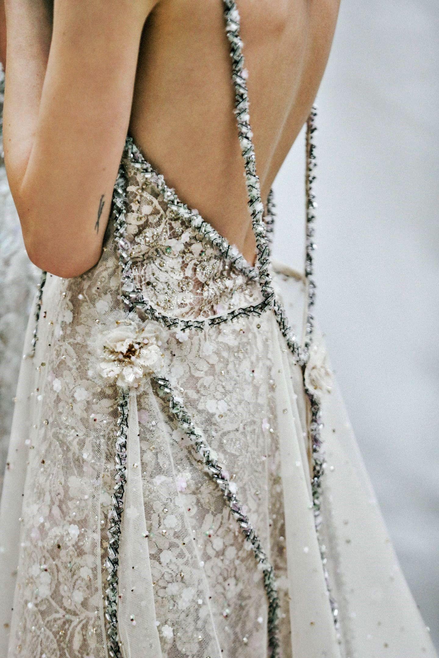 Chanel springsummer haute couture detail designer vintage