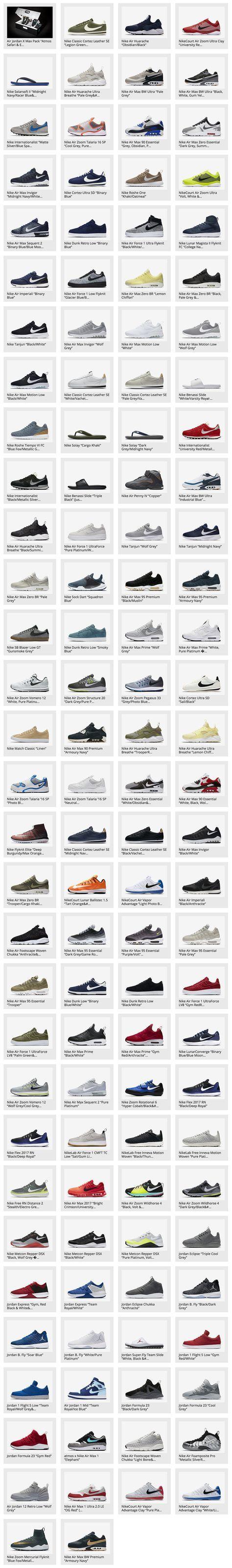 122 Nike \u0026 Jordan Brand Sneakers That
