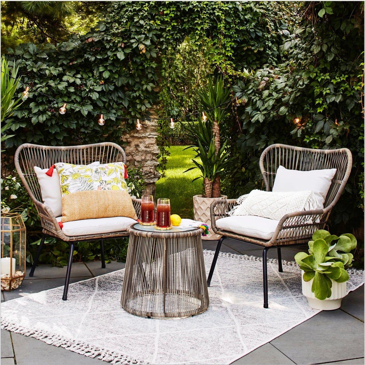 Grandin Road Orange Mid Century Rattan Outdoor Chair Furniture